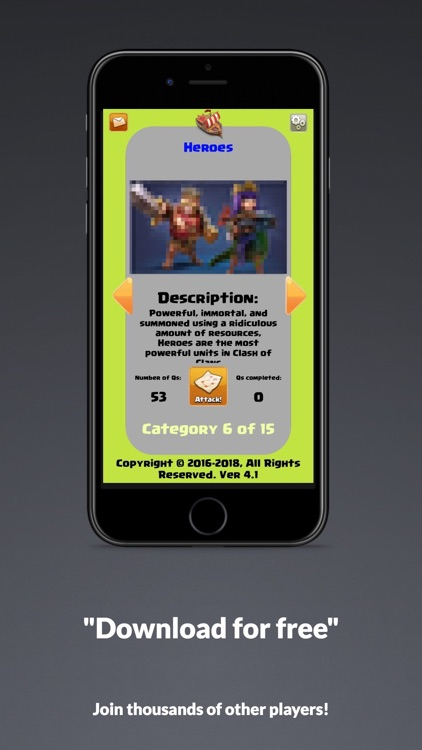 Trivia Game for Clash of Clans screenshot-4