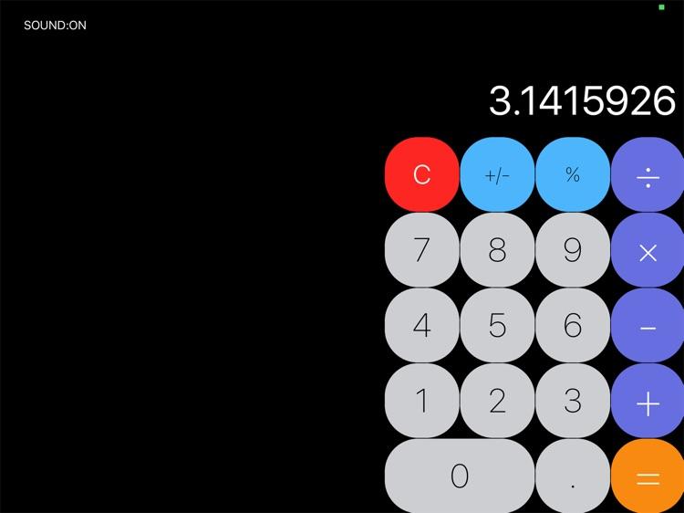 MyCalculator for iPad screenshot-3