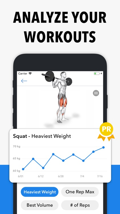 Hevy - Weight Lifting Tracker