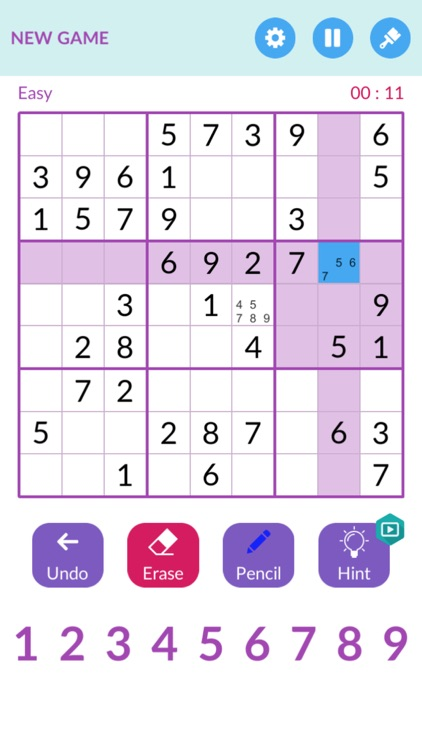 Sudoku ` screenshot-1
