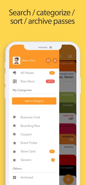 Pass2u wallet cardscoupons on the app store pass2u wallet cardscoupons on the app store reheart Images