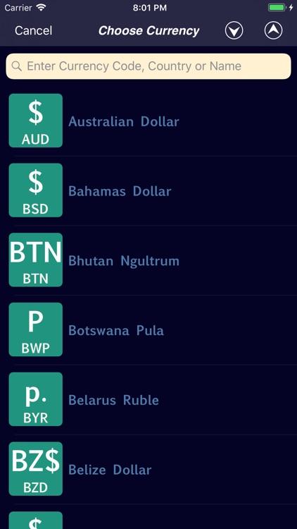 icurrency exchange converter by albert parti