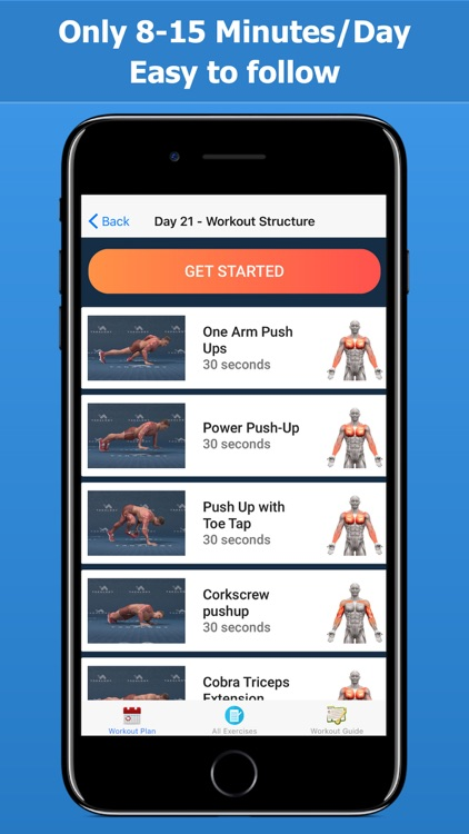 Home Workout - Fitness Planner