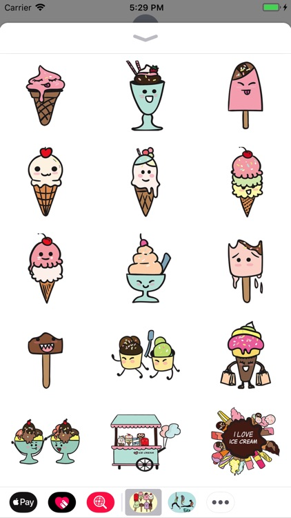 Ice Cream Friends screenshot-1
