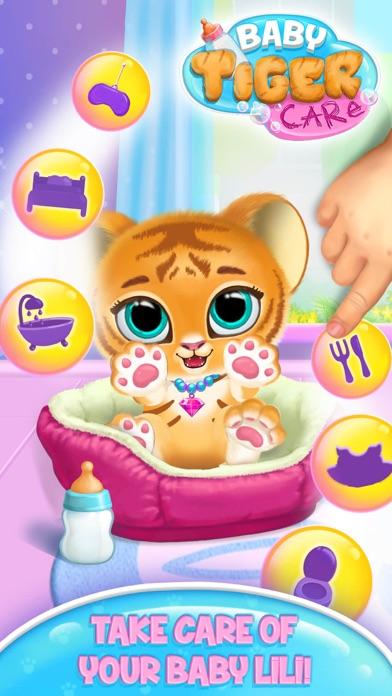 Baby Tiger Care screenshot 1