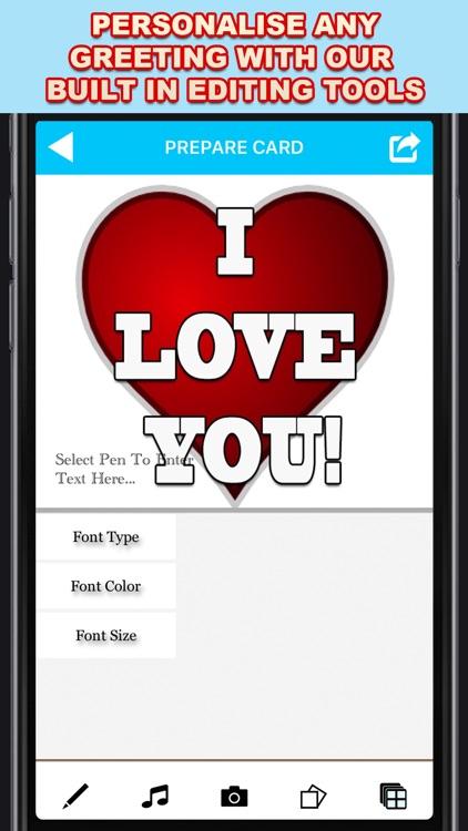 Greeting Cards App screenshot-3