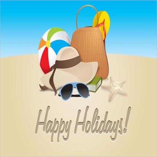 Happy Holiday Greeting Cards icon