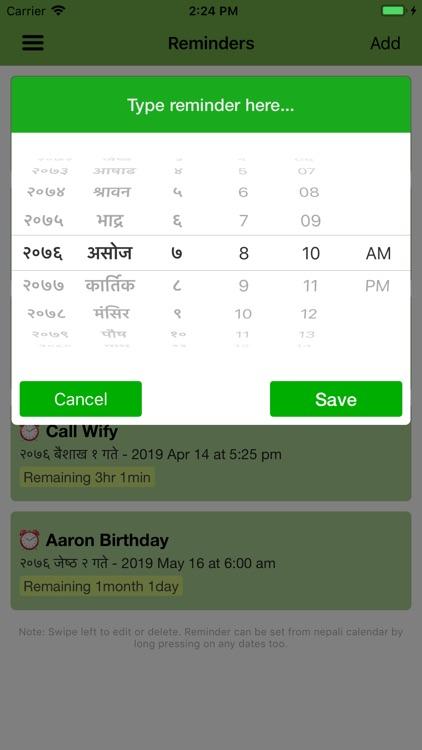 Smart Patro - Nepali Calendar screenshot-9