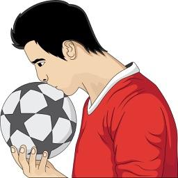 Soccer/Football Emoji Stickers