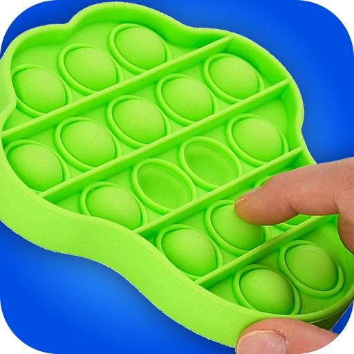 DIY Pop it Fidget toy! ASMR