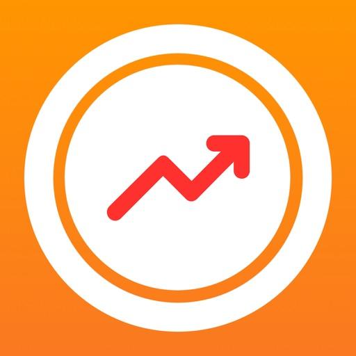 ぴたコイン - ビットコイン最速入門仮想通貨予想アプリ