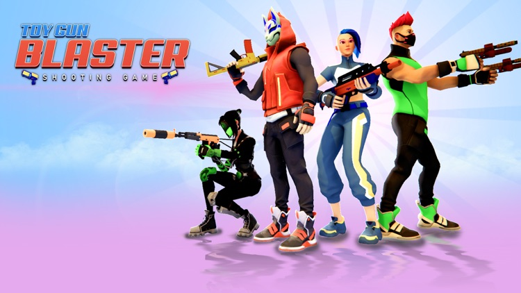 Toy Gun Blaster- Shooting Game screenshot-0