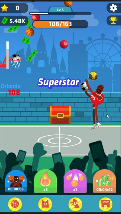 Idle Dunk Masters Скриншоты7