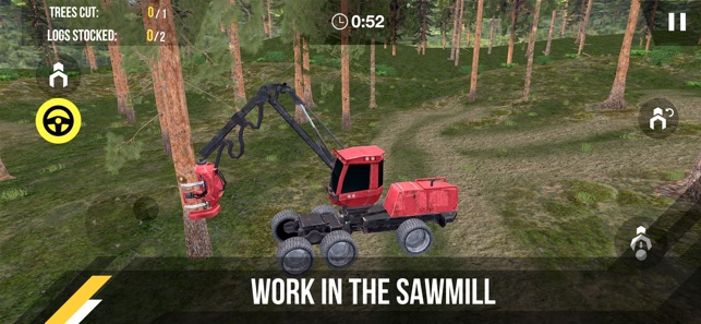 Forest Harvester Tractor 3D on the App Store