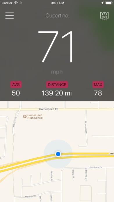 Speedometer - GPS Speed screenshot two
