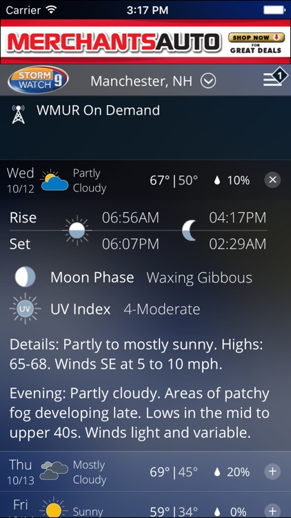 WMUR Weather screenshot-3