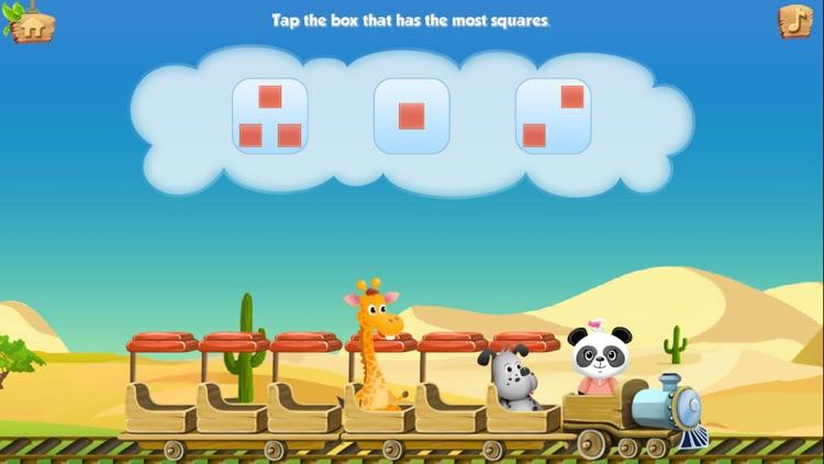 Lola Panda's Math Train LITE screenshot-3