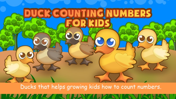 Duck Counting Numbers for Kids