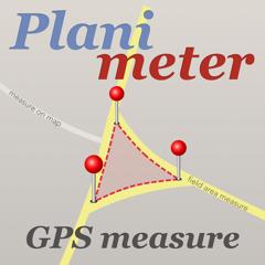 Planimeter GPS mesure de zone