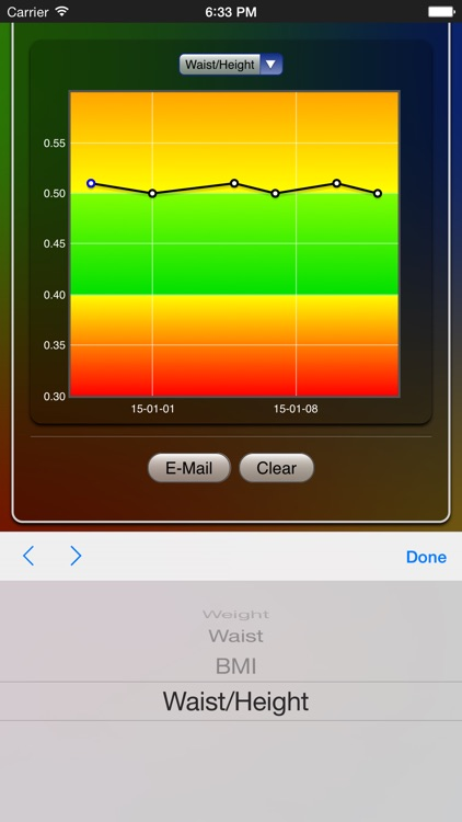 Weight Chart screenshot-3