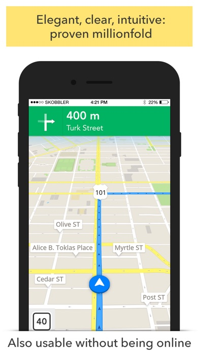 Screenshot #6 for GPS Navigation (Sat Nav)