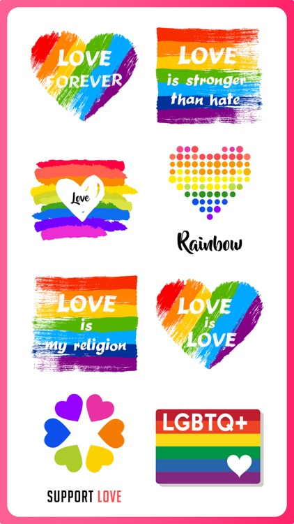 Gay Pride Month LGBT Stickers