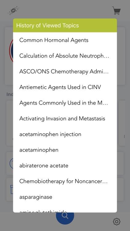 Oncology Nursing Drug Handbook screenshot-5