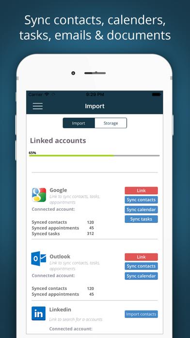 Salesbox - CRM för småföretag på PC
