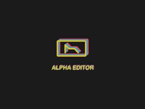 Alpha Editor - náhled