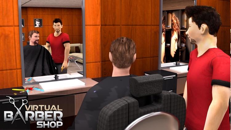 Virtual Barber Shop Hair Salon screenshot-3