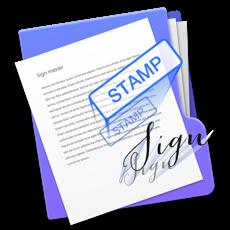 Sign Master - 文档签名 for mac