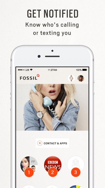 Fossil Q screenshot-3
