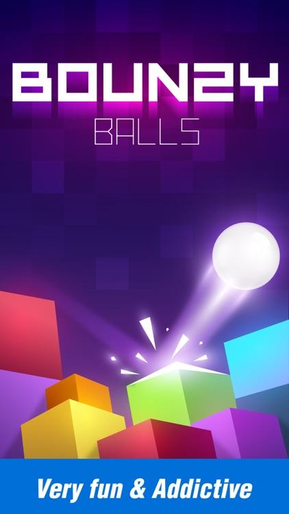 Bounzy Ball: Bricks and Balls screenshot-0