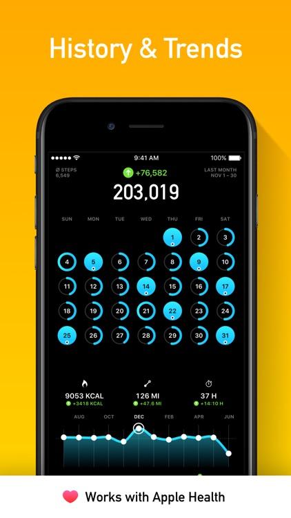 StepsApp Pedometer screenshot-4