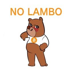 Bitcoin Bear Emojis