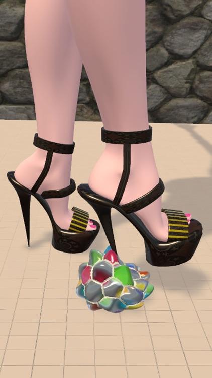 Shoe Crushing! Satisfying Art screenshot-3
