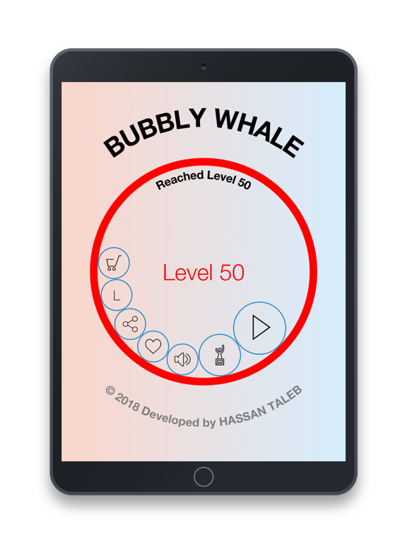 Bubbly Whale screenshot 1