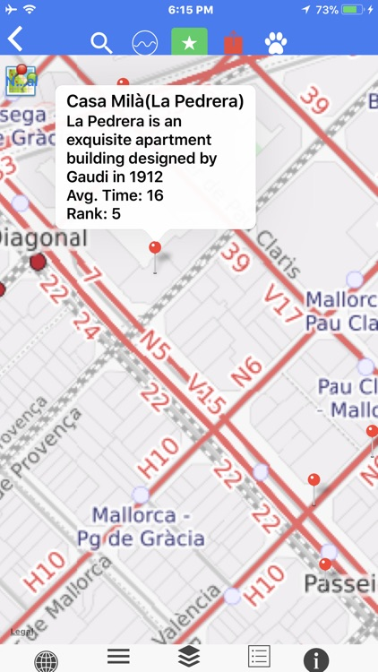 Barcelona Offline Sub Tour Map screenshot-4