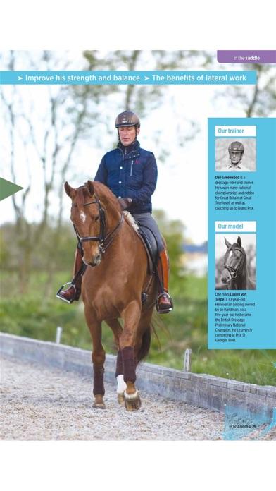 Horse and Rider Magazine Screenshot