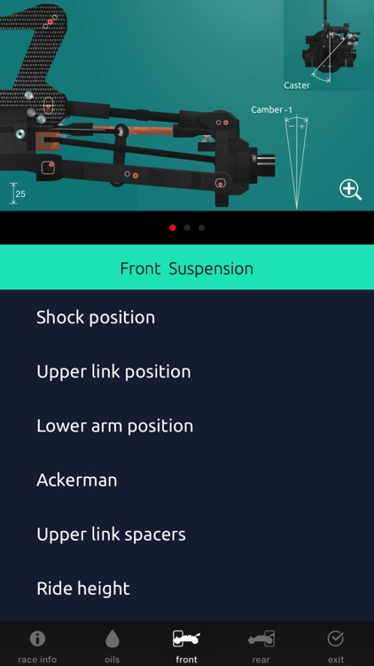 RC Car Setup 1/8 TT screenshot-3
