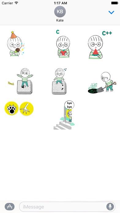 Animated Developer's Day Emoji screenshot 2