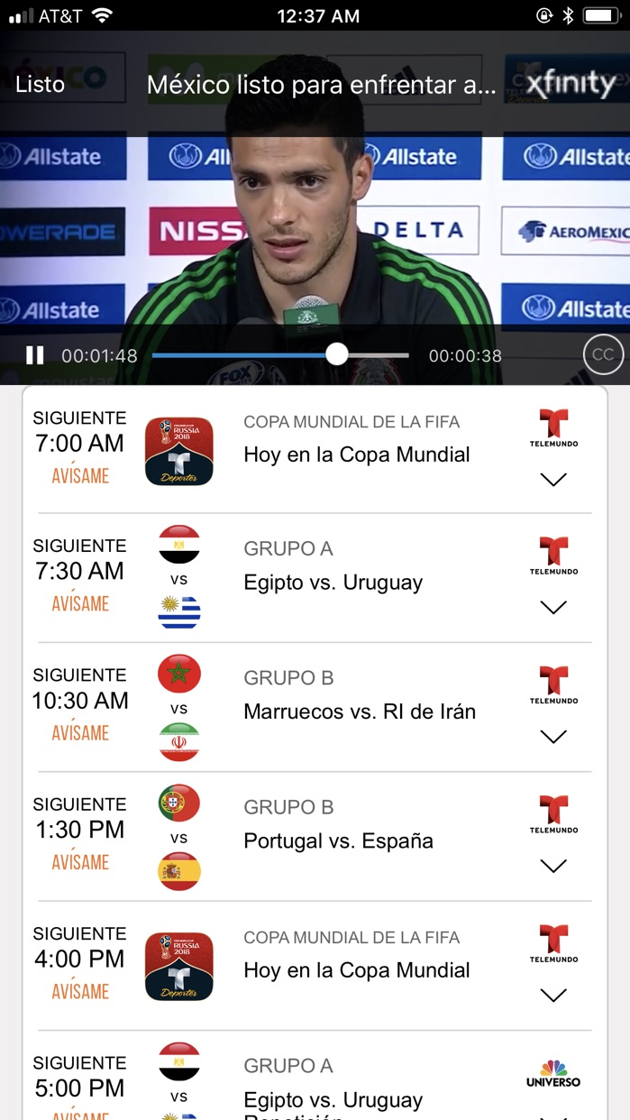 Telemundo Deportes - En Vivo Screenshot