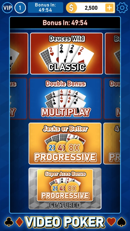 Video Poker Multi Bonus screenshot-3