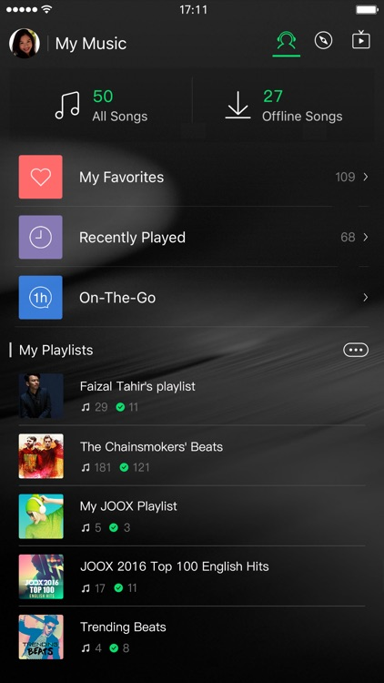 JOOX Music screenshot-2