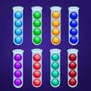 Color Ball Puzzle Sort