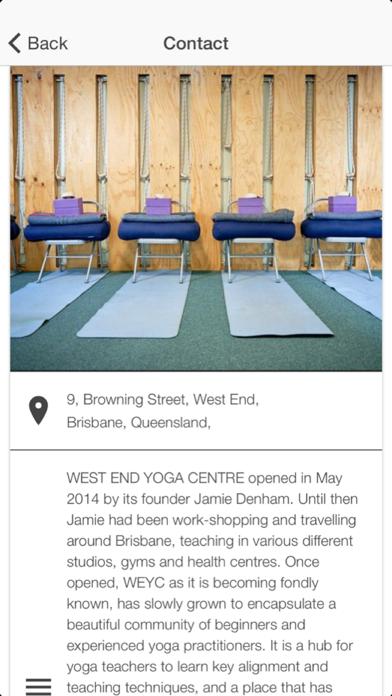 West End Yoga screenshot three
