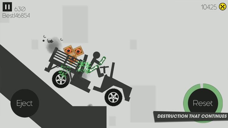 X-Stickman  Dismounting
