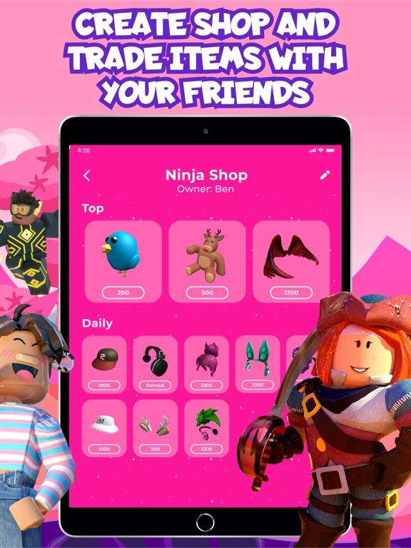 iPad Image of Skinblox - Skins for Roblox