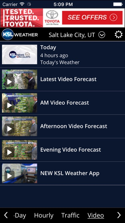 KSL Weather screenshot-2