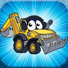 工程车方块游戏!